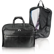 GP® 8340 Koskin Leather Carry-On Valise Garment Bag, Black