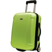 """Traveler's Choice® TC2400 FREEDOM 21"""" Hard-Shell Wheeled Upright Luggage Suitcase, Apple Green"""