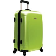 """Traveler's Choice® TC2400 FREEDOM 25"""" Hard-Shell Wheeled Upright Luggage Suitcase, Apple Green"""