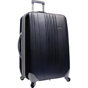 "Traveler's Choice® TC3300 Toronto 25"" Hardside Spinner Luggage Suitcase, Black"