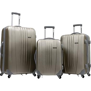 Traveler's Choice® TC3300 Toronto 3-Piece Hardside Spinner Luggage Set, Gold