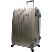 "Traveler's Choice® TC3300 Toronto 25"" Hardside Spinner Luggage Suitcase, Gold"