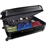 Traveler's Choice® TC3900 Rome 3-Piece Hard-Shell Spin/Rolling Luggage Set, Black