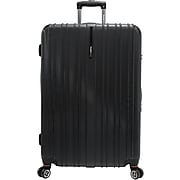 "Traveler's Choice® TC5000 Tasmania 29"" Expandable Spinner Luggage Suitcase, Black"