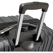 """Traveler's Choice® TC5000 Tasmania 29"""" Expandable Spinner Luggage Suitcase, Black"""