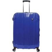 """Traveler's Choice® TC8000 Sedona 29"""" Expandable Spinner Luggage Suitcase, Blue"""