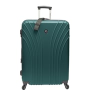 Traveler's Choice® TC8500 Cape Verde Hardsided Lightweight Spinner Luggage Suitcase, Green