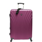 Traveler's Choice® TC8500 Cape Verde Hardsided Lightweight Spinner Luggage Suitcase, Lavender