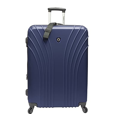 Traveler's Choice® TC8500 Cape Verde Hardsided Lightweight Spinner Luggage Suitcase, Navy