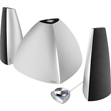 Edifier Prisma 2.1 Speakers with Bluetooth, Silver