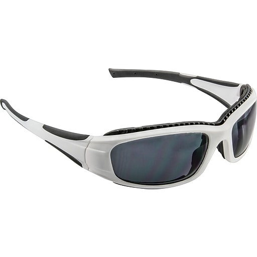 3M Safety Sunwear, Silver Black Frame, Silver Mirror AS Lens