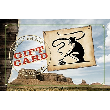 Black Angus Gift Card $50 (Email Delivery)
