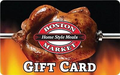 Boston Market Gift Card, $50