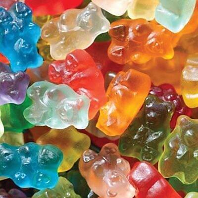 Image of 12 Flavor Gummi Bears, 5 lb. Bulk