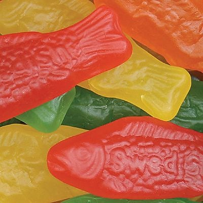 Swedish Fish Assorted, 5 lb. Bulk