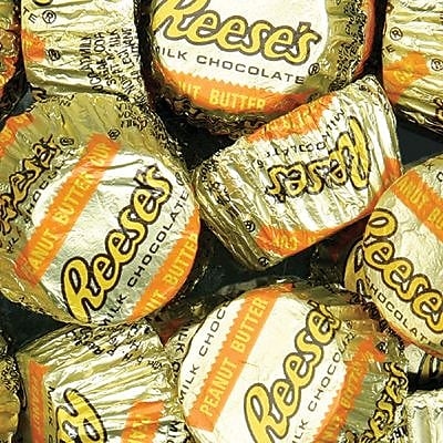 REESE'S Peanut Butter Cups Miniatures, 3.5 lbs 183796