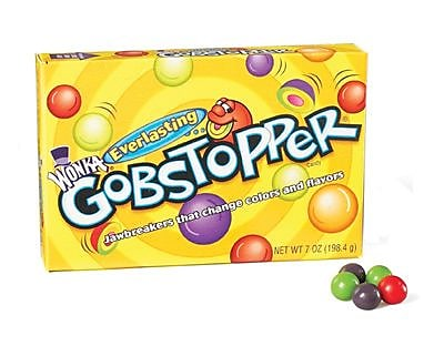 Gobstoppers; 7 oz. Theater Box, 12 Boxes