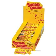 Sugar Daddy Pops Small, 0.47 oz., 48 Pops/Box