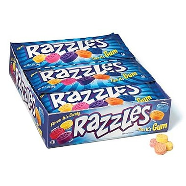 Razzles, 1.4 oz. Bag, 24 Bags/Box