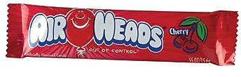 Airheads Cherry Bar, 0.55 oz. Bar, 36 Bars/Box