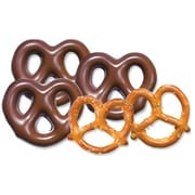 Milk Chocolate Covered Pretzels; 10 lb. Bulk