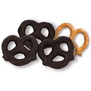 Dark Chocolate Covered Pretzels; 10 lb. Bulk