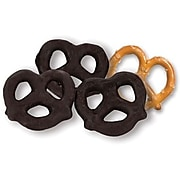 Dark Chocolate Covered Pretzels; 10 lb. Bulk