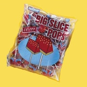 Big Slice Cherry Pops, 48 Lollipops/Bag