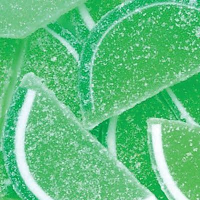 Lime Fruit Slices; 5 lb. Bulk