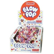 Cherry Blow Pops; 48 Lollipops/Box