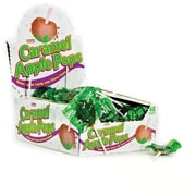 Caramel Apple Pops; 31.7 oz. Box, 48 Lollipops/Box