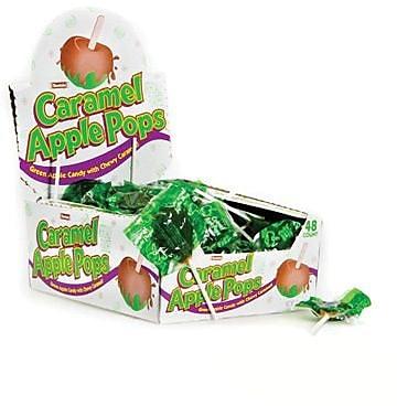 Caramel Apple Pops, 31.7 oz. Box, 48 Lollipops/Box