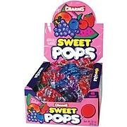 Charms Sweet Pops; 48 Lollipops/Box