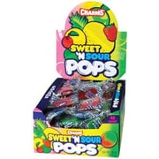 Charms Sweet & Sour Pops; 48 Lollipops/Box