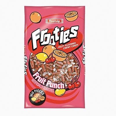 Frooties Fruit Punch; 28 oz. Bag