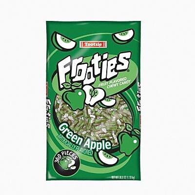 Tootsie Frooties, Apple, 28 oz. Bag/Each (209-00088)