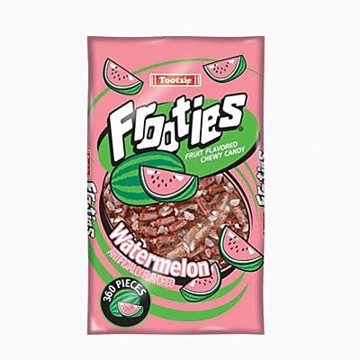 Tootsie Frooties, Watermelon, 28 oz. Bag/Each (209-00092)