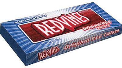 King Size Red Vines, 5 oz. Trays, 24 Trays/Box