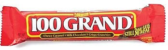 Image of 100 Grand Bar, 1.5 oz. Bars, 36 Bars/Box