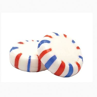 Red, White, and Blue American Starlight Mints, 5 lb. Bulk