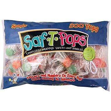 Saf-T-Pops, 200 pieces/Bag