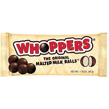 WHOPPERS Malted Milk Balls, 1.75 oz, 24 Count