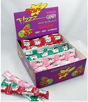 Zotz Apple Cherry Watermelon; 4-Pack Strings, 48 Strings/Box