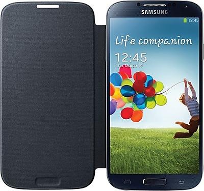 Samsung Galaxy S4 Flip Cover Folio Case, Black