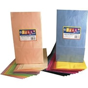 "Hygloss® 15"" x 12"" Pinch Bottom Craft Paper Bag, Rainbow"