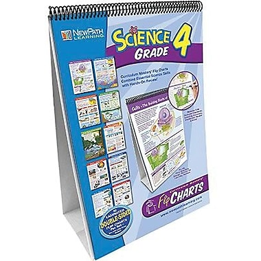 New Path Learning® Science Flip Chart Set, Grades 4th