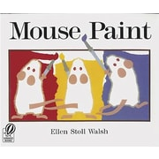 Houghton Mifflin Harcourt Mouse Paint Book By Ellen Walsh, Grade Pre-School - Kindergarten (ING0152001182)