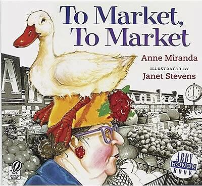 Houghton Mifflin® Harcourt To Market Book By Anne Miranda, Grades 1st - 3rd