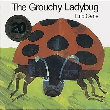 Harper Collins The Grouchy Ladybug Book By Eric Carle, Grades pre-school - 4th