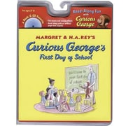 American Heritage Curious George First Day of School Carry Along Book & CD Set Hans Rey, Grades P-K